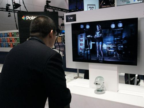 索尼3D电视体验