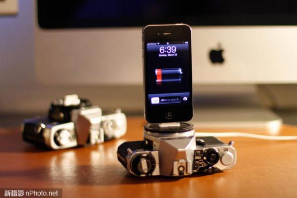 iPhone手机座