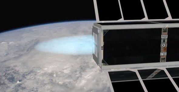 瑞士科学家正在研制微型卫星发动机MicroThrust,允许卫星在以时速4万公里速度绕轨道飞行时改变方向