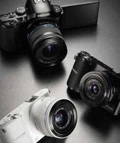 三星发布三款新品单电相机