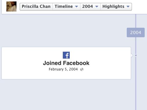 普里西拉是最早一批使用Facebook的用户
