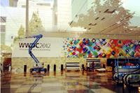 WWDC 2012布展