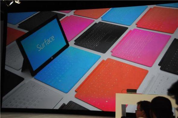 微软将提供多种色彩的外接键盘
