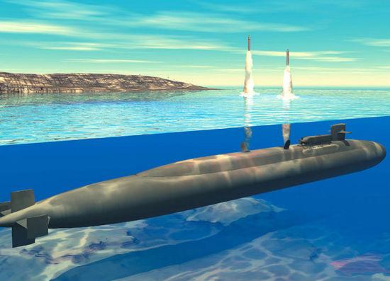 重新设计的核动力潜艇