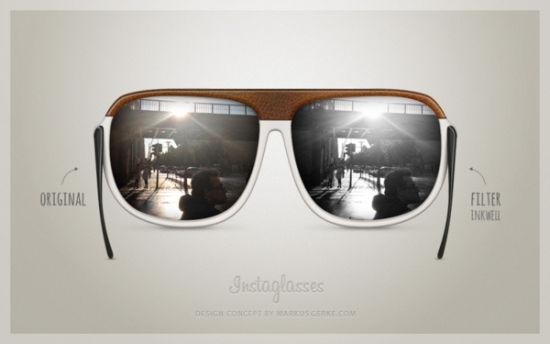 Instagram发布概念相机Instaglasses