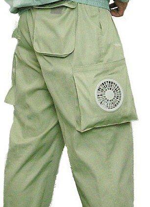 日本公司Kuchofuku发明的空调裤,内置空调扇