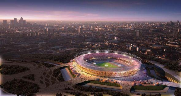 气势恢宏的伦敦奥林匹克体育场