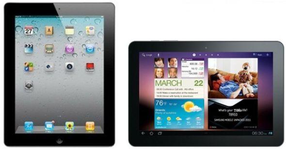三星平板电脑与iPad长得太像,连谷歌都看不下去了