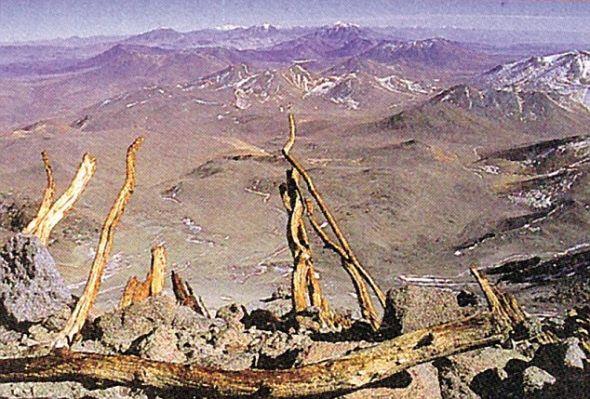 """木乃伊""""处女""""发现地点,阿根廷的尤耶亚科火山"""