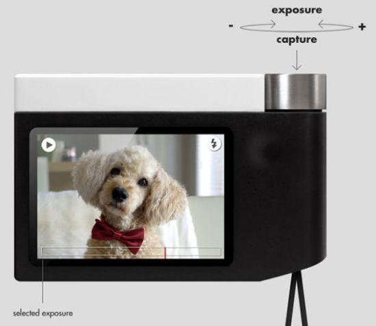 只有一个按键的概念相机PentaxSi