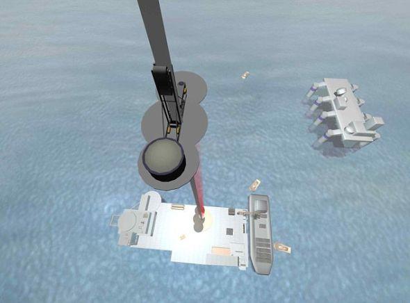 基地可被固定在海上