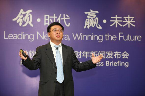 微软全球资深副总裁、微软亚太研发集团主席张亚勤