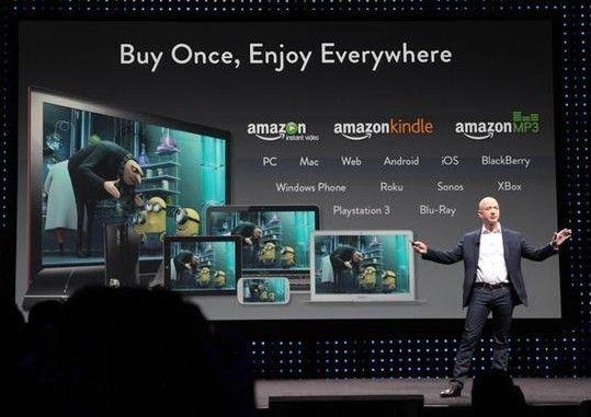 贝索斯已正式推出了新款的电子书,稍后可能发布新款平板及手机。