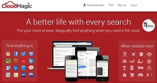CloudMagic:整合多种服务的跨平台搜索引擎