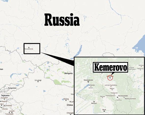 在莫斯科东部大约2600英里(4184.29公里)处的克麦罗沃地区发现的这些毛发,被认为是雪人的