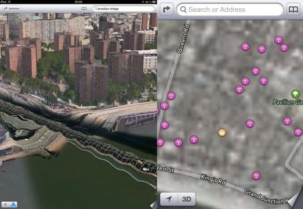 """2012般的3D场景和如此""""清晰""""的地图"""