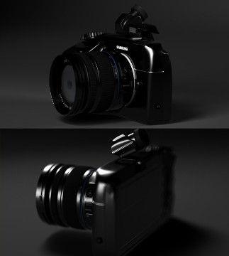 相机与手机合二为一概念相机三星NX-S1曝光