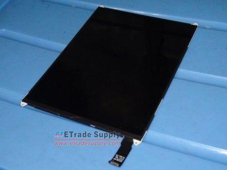 图1:iPad Mini的LCD显示屏正面,长宽比为4:3。