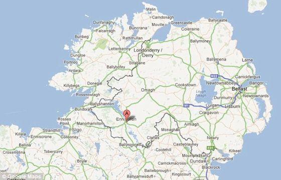 科学家在北爱尔兰恩尼斯基林市附近一个发掘地获得这些重大发现。