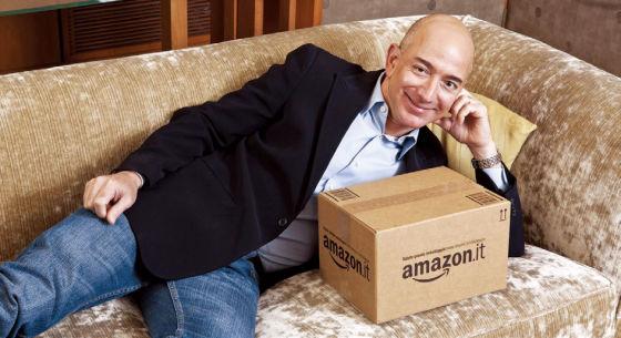 亚马逊CEO杰夫·贝佐斯(Jeff Bezos)