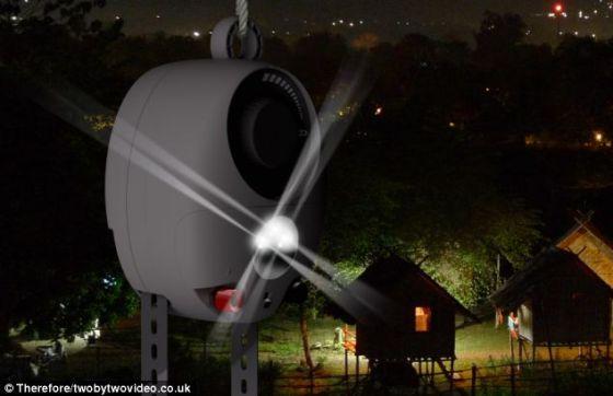 伦敦设计与创新组织Deciwatt的设计师瑞德福德和里夫斯用4年时间开发这种灯。