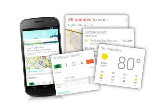 Google Now能够挖掘、整合用户数据,实施提供服务