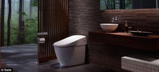 这款马桶将于2013年2月在日本上市