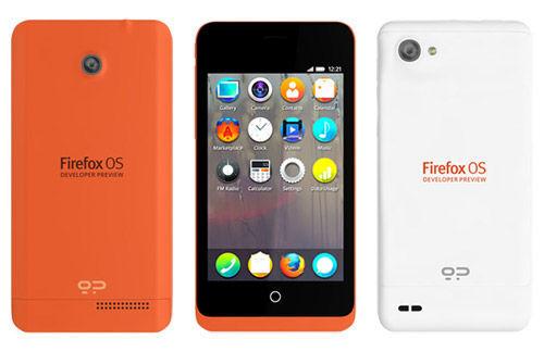 基于Firefox OS系统的开发人员预览版智能手机Keon和Peak