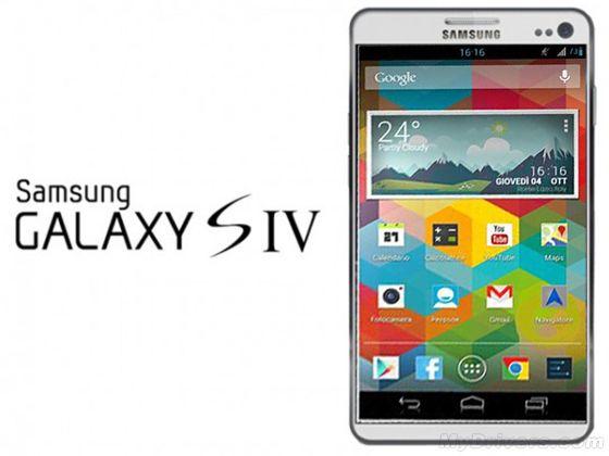 此前网上曝光的Galaxy S4智能手机