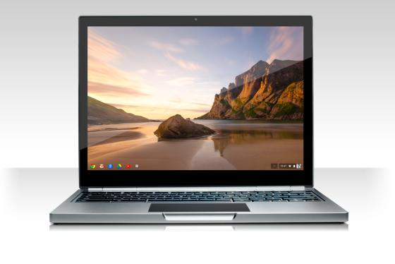 谷歌周四发布高端触摸屏笔记本Chromebook Pixel。