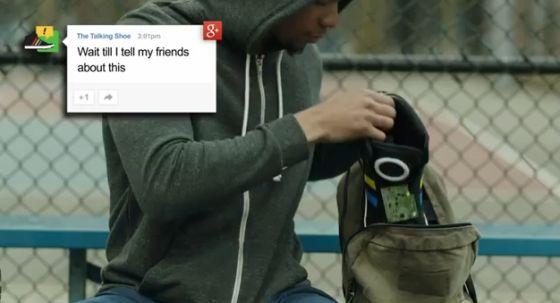 这款鞋子还能与Google+整合