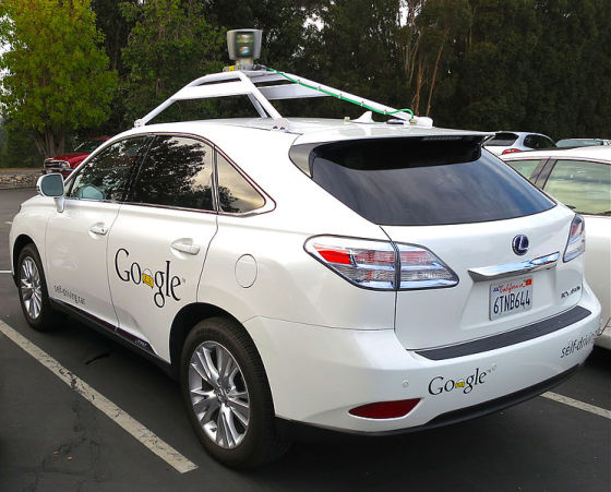 谷歌无人驾驶汽车