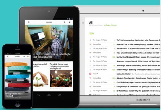 RSS阅读器Feedly适用于移动和PC平台