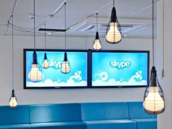 Skype的第一次通话