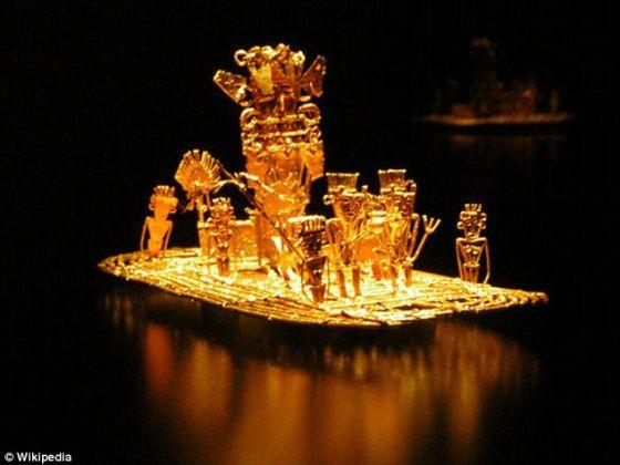 """500年来,传说中""""失落的黄金之城""""埃尔多拉多一直困扰着历史学家和探险家"""