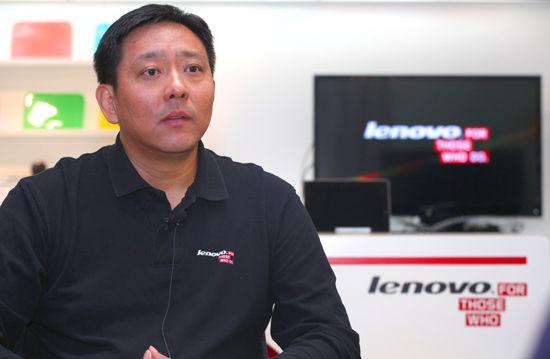 联想集团高级副总裁、Lenovo业务集团总裁刘军