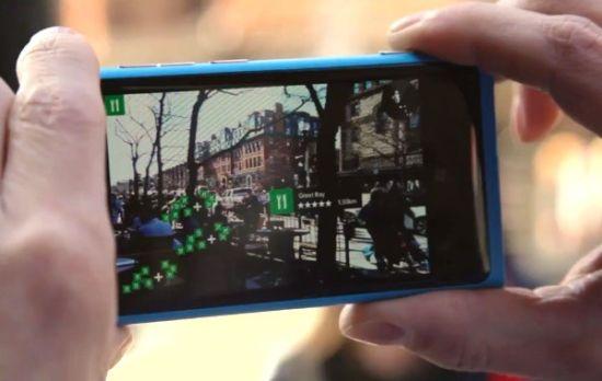 诺基亚Here地图服务整合了基于增强现实技术的LiveSight功能。