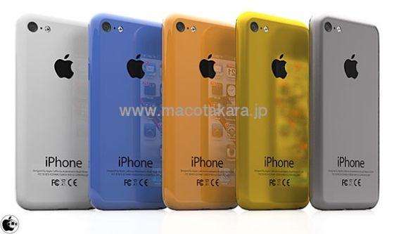 廉价版iPhone可能将有多种颜色