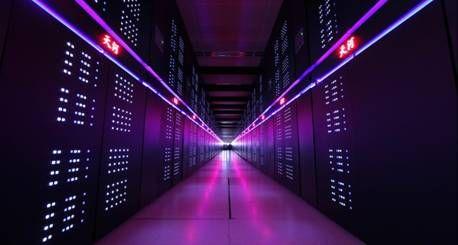 天河二号。 图片来源:科技部网站。