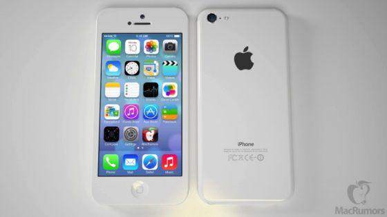 廉价iPhone背部类似iPod touch 5的设计