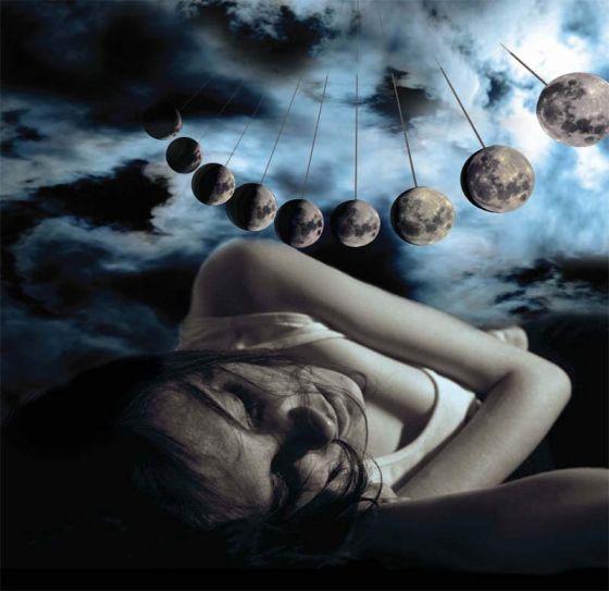 瑞士研究人员的研究显示月相周期可能会对人体睡眠产生影响,在满月的当晚人们的睡眠质量会变差