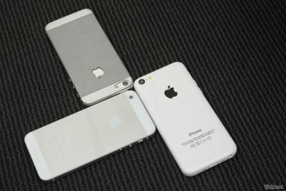 iPhone 5S/5和iPhone 5C