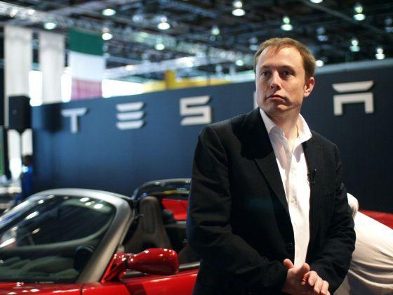 特斯拉电动车CEO马斯克