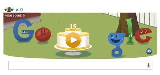 谷歌庆祝15周岁生日