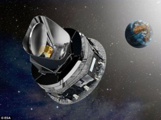 欧洲航天局的普朗克探测器。2004年,美国宇航局的威尔金森微波各向异性探测器对宇宙微波背景进行的测量首次发现了宇宙向一侧倾斜的线索。普朗克探测器随后证实了这一发现