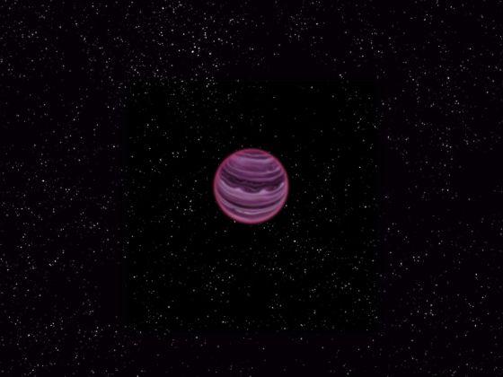 艺术示意图:流浪行星PSO J318.5-22