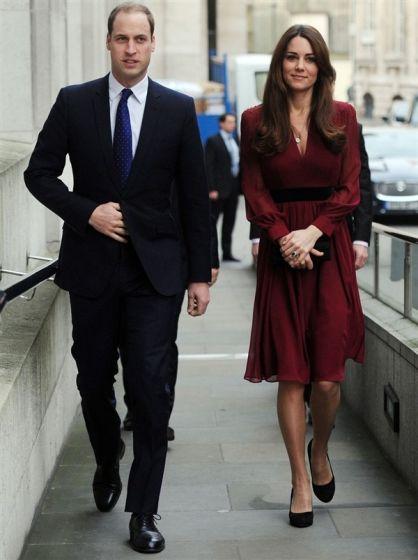 威廉王子与凯特王妃