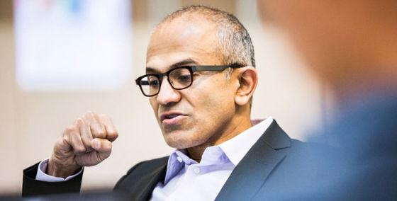 微软新任CEO萨蒂亚・纳德拉