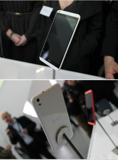 HTC首次亮相新渴望8系手机