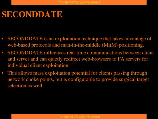 """NSA列出的数据监控""""分拣器""""类型"""